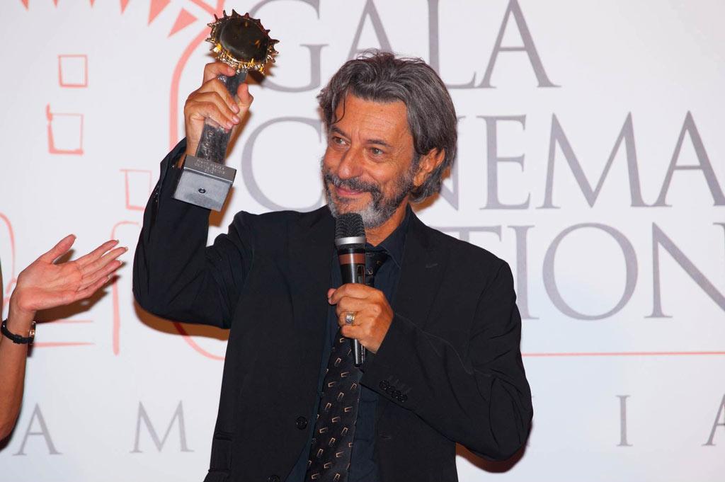 Pivio ritira il premio per il cinema in Campania