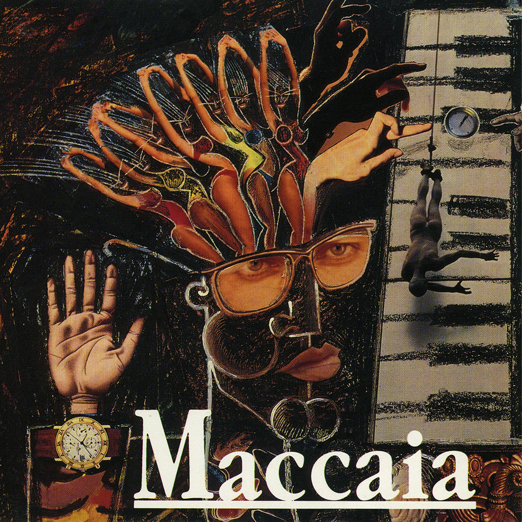 Maccaia - CD cover image