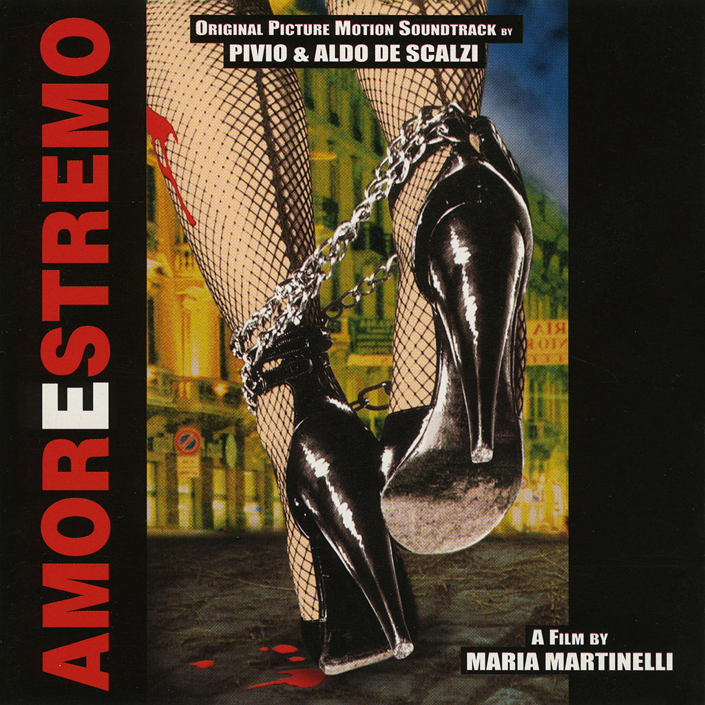 Amorestremo colonna sonora cover image