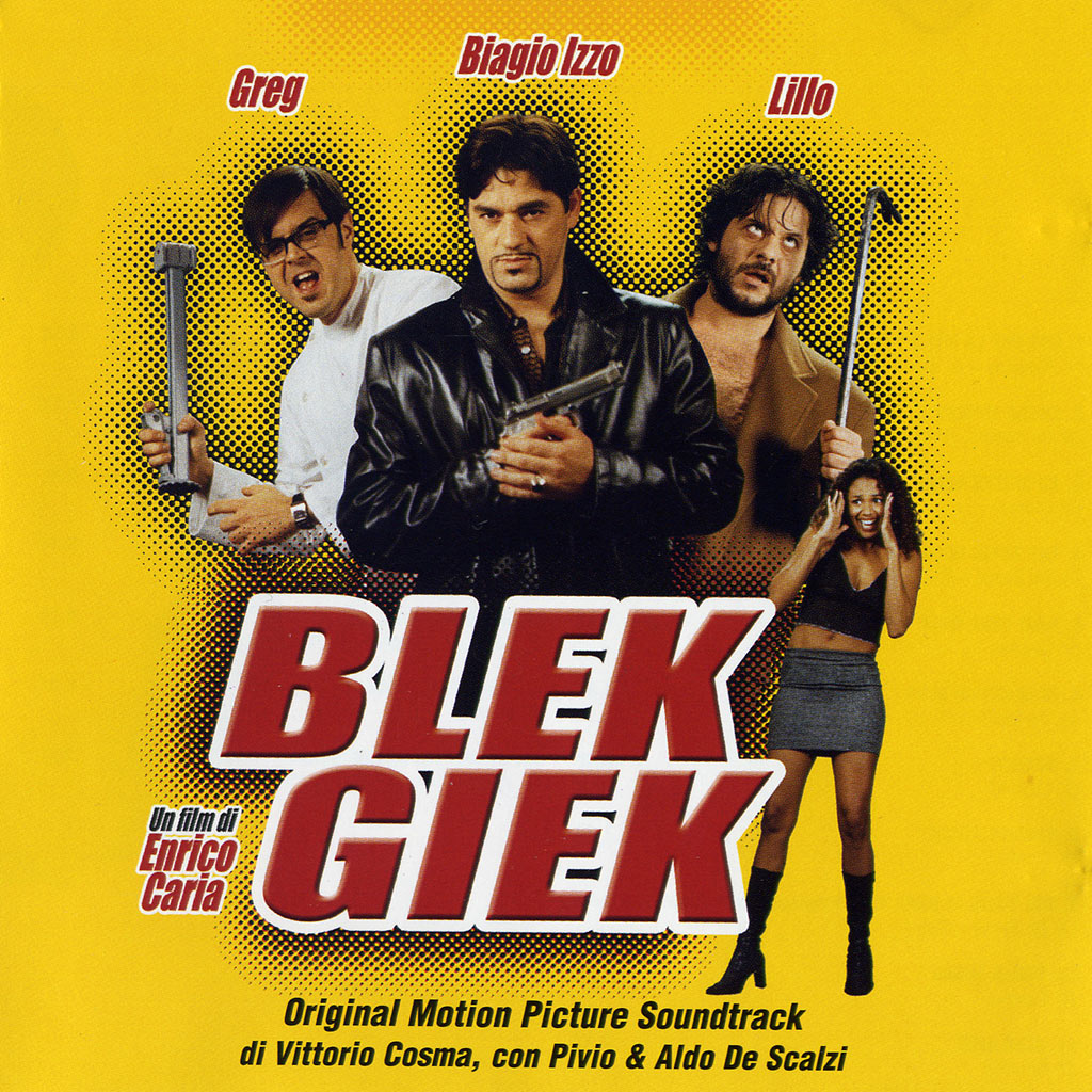Blek Giek - colonna sonora cover image