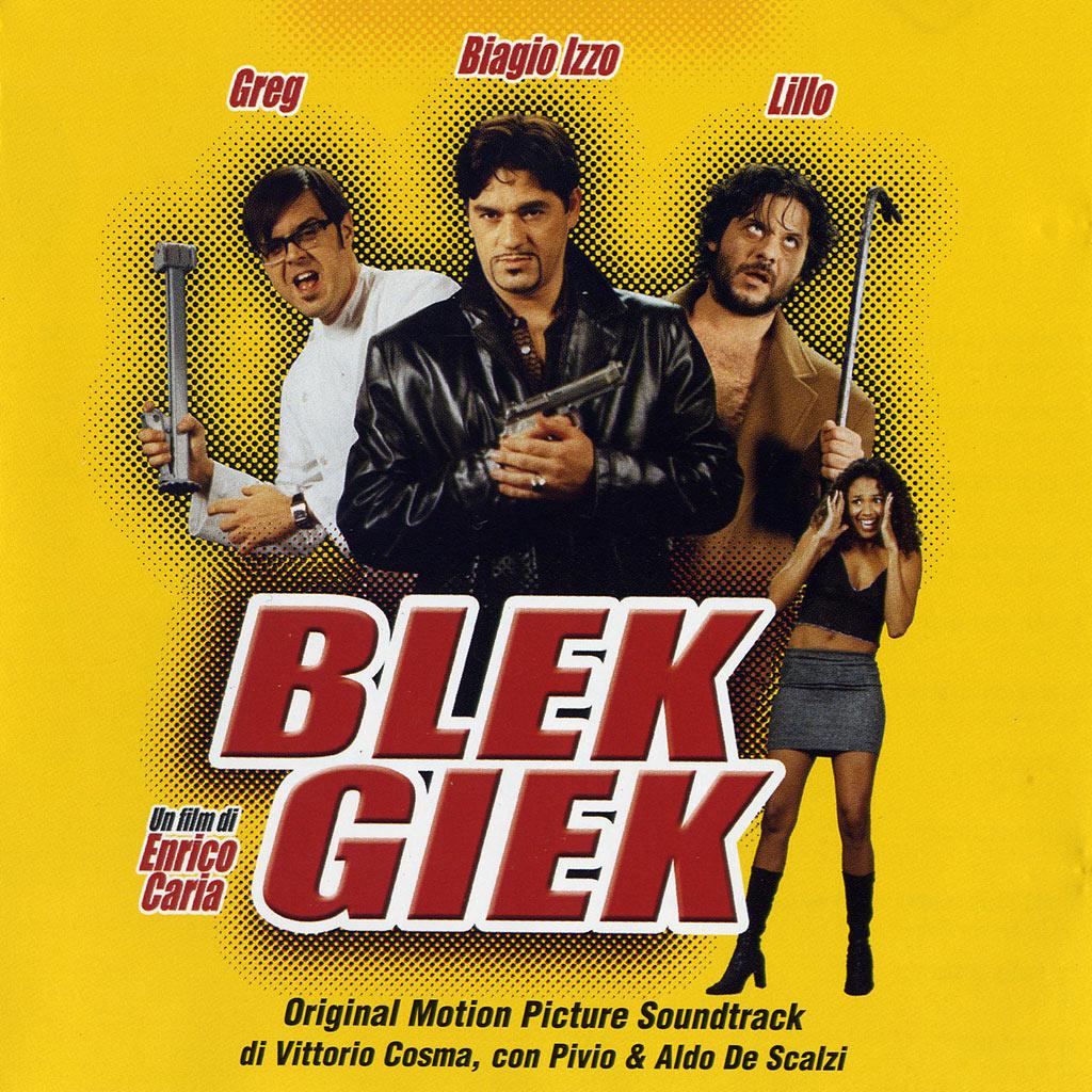 Blek Giek - colonna sonora cover image