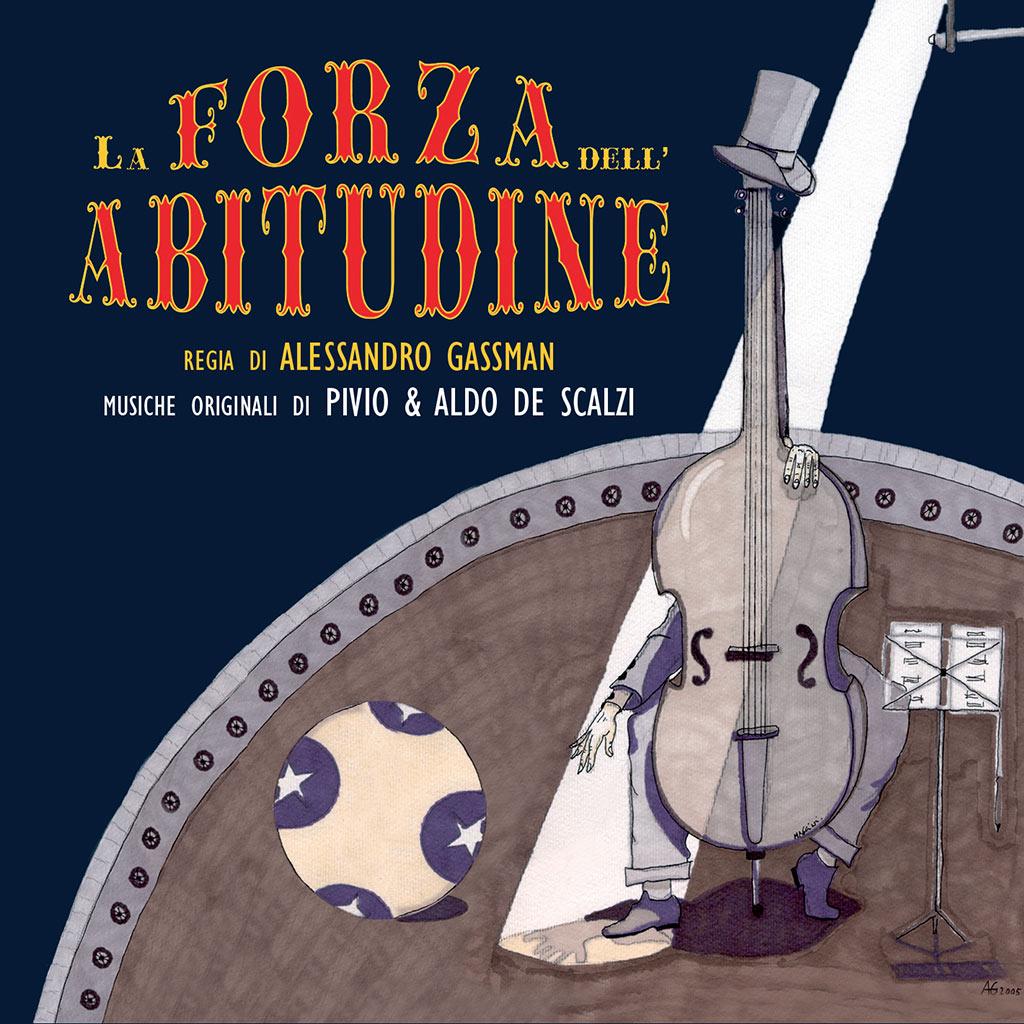 La forza dell'abitudine - colonna sonora cover image