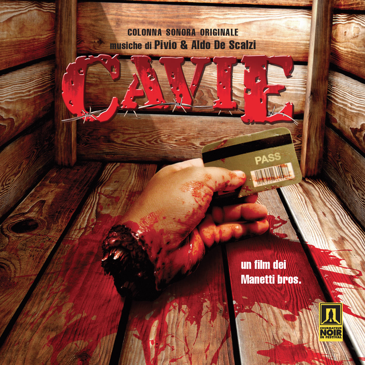 Cavie - colonna sonora cover image
