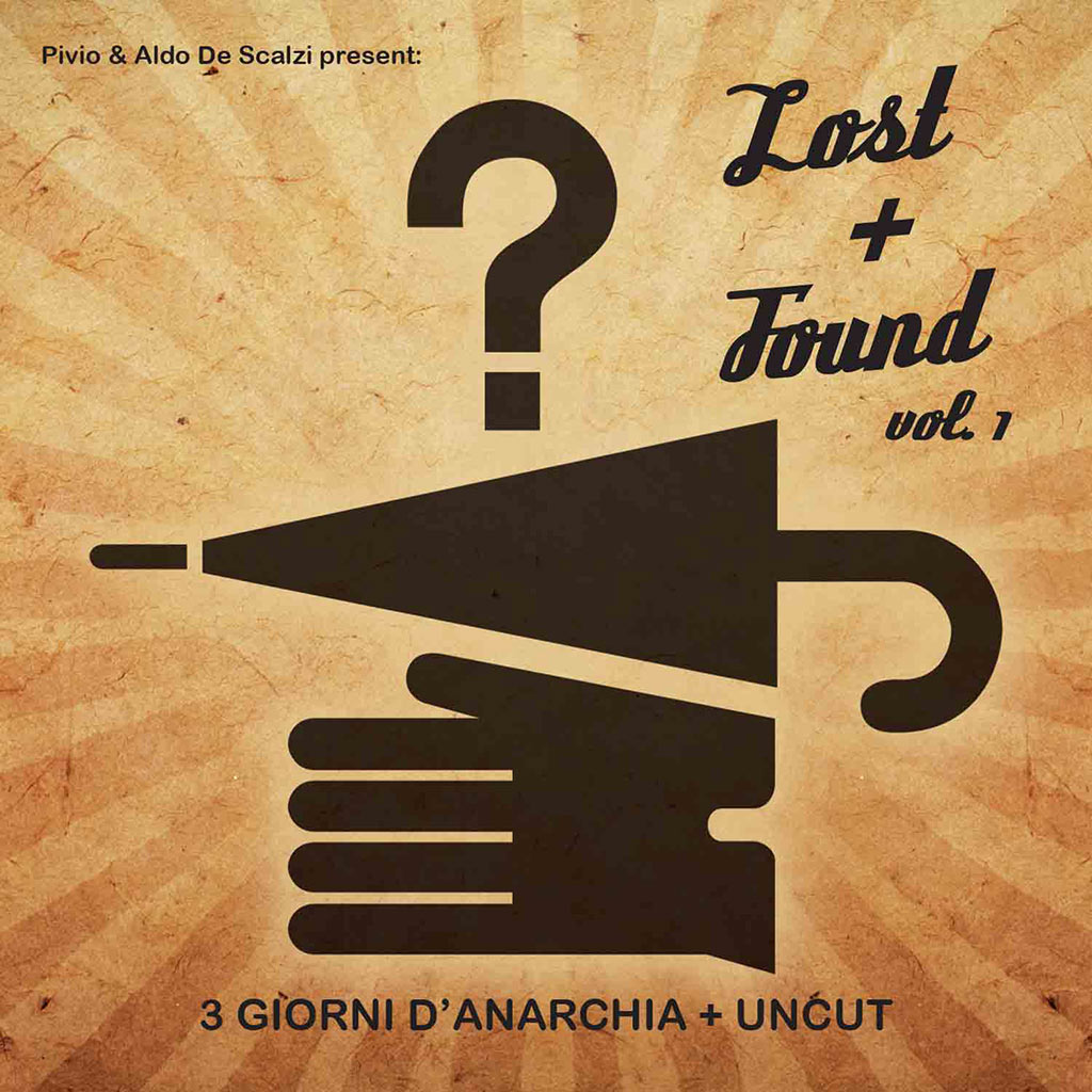 Lost+Found Vol 1 - CD cover image