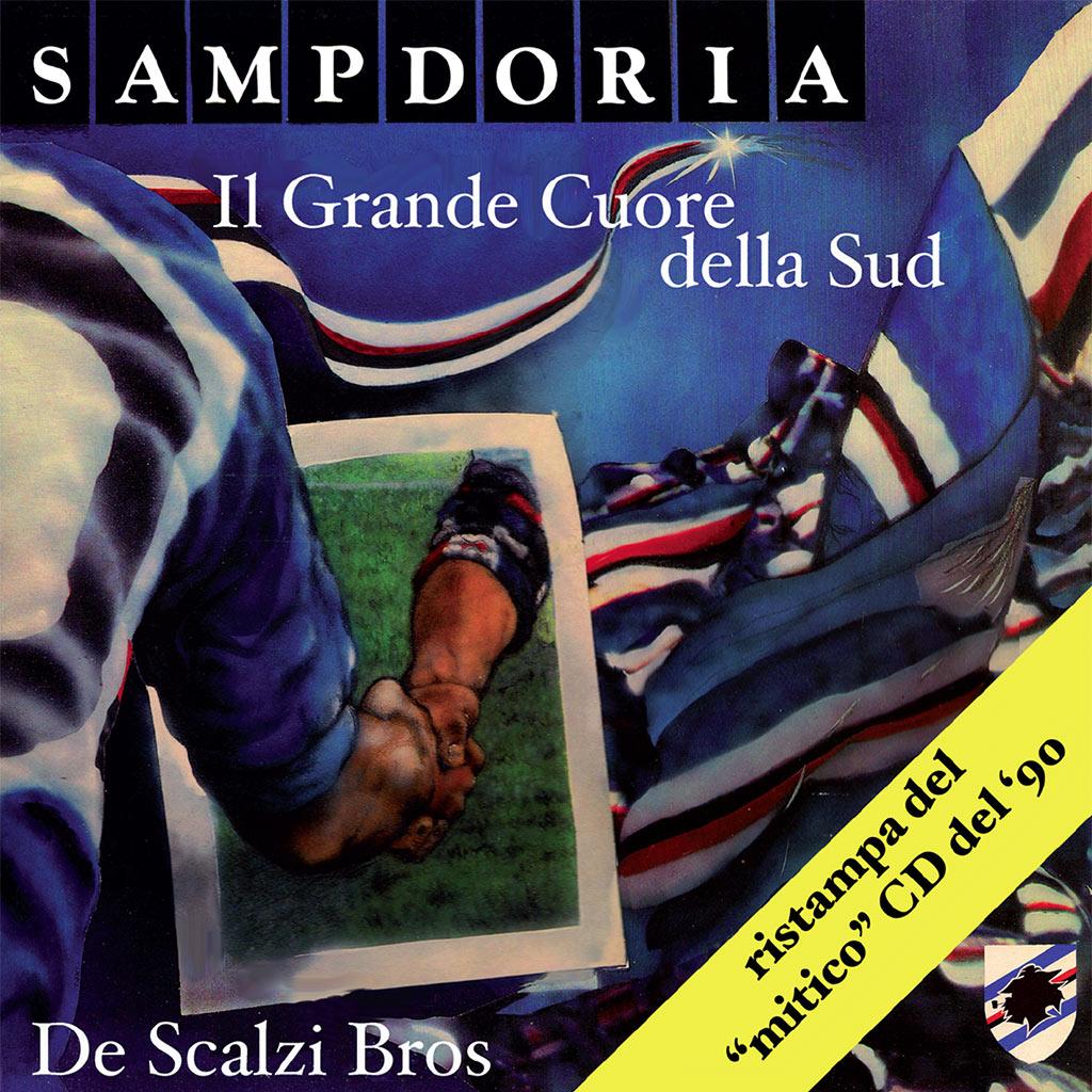 Sampdoria - il grande cuore della Sud - CD Cover image