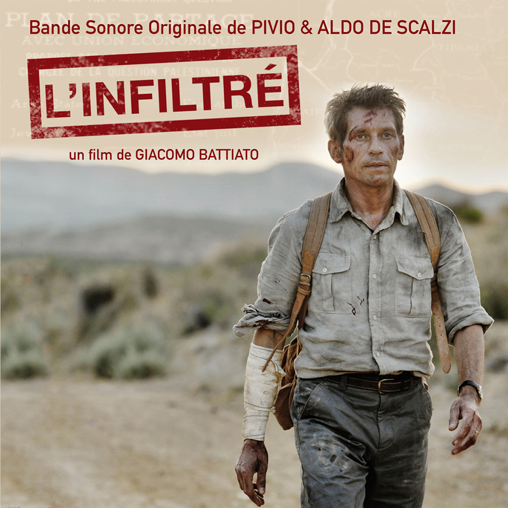 L'infiltre - CD cover image