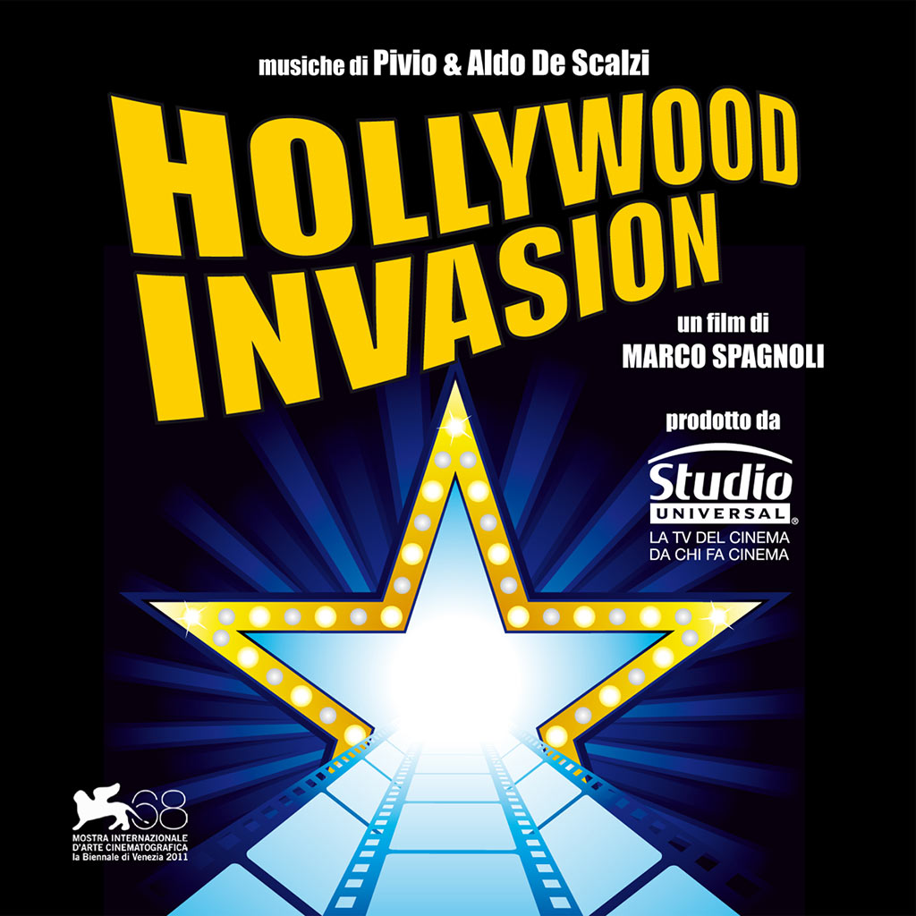 Hollywood Invasion - cover CD