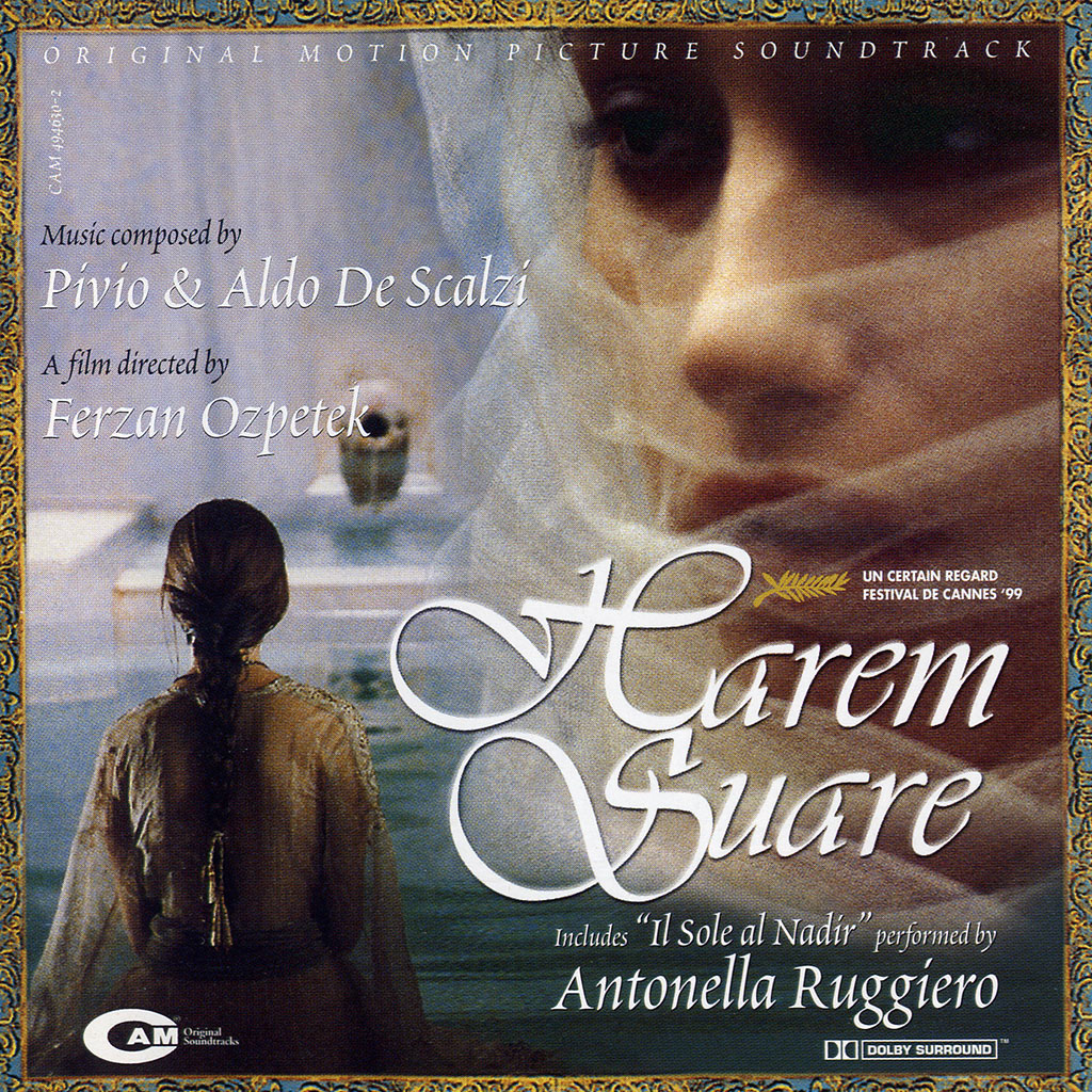 Harem suare - CD cover