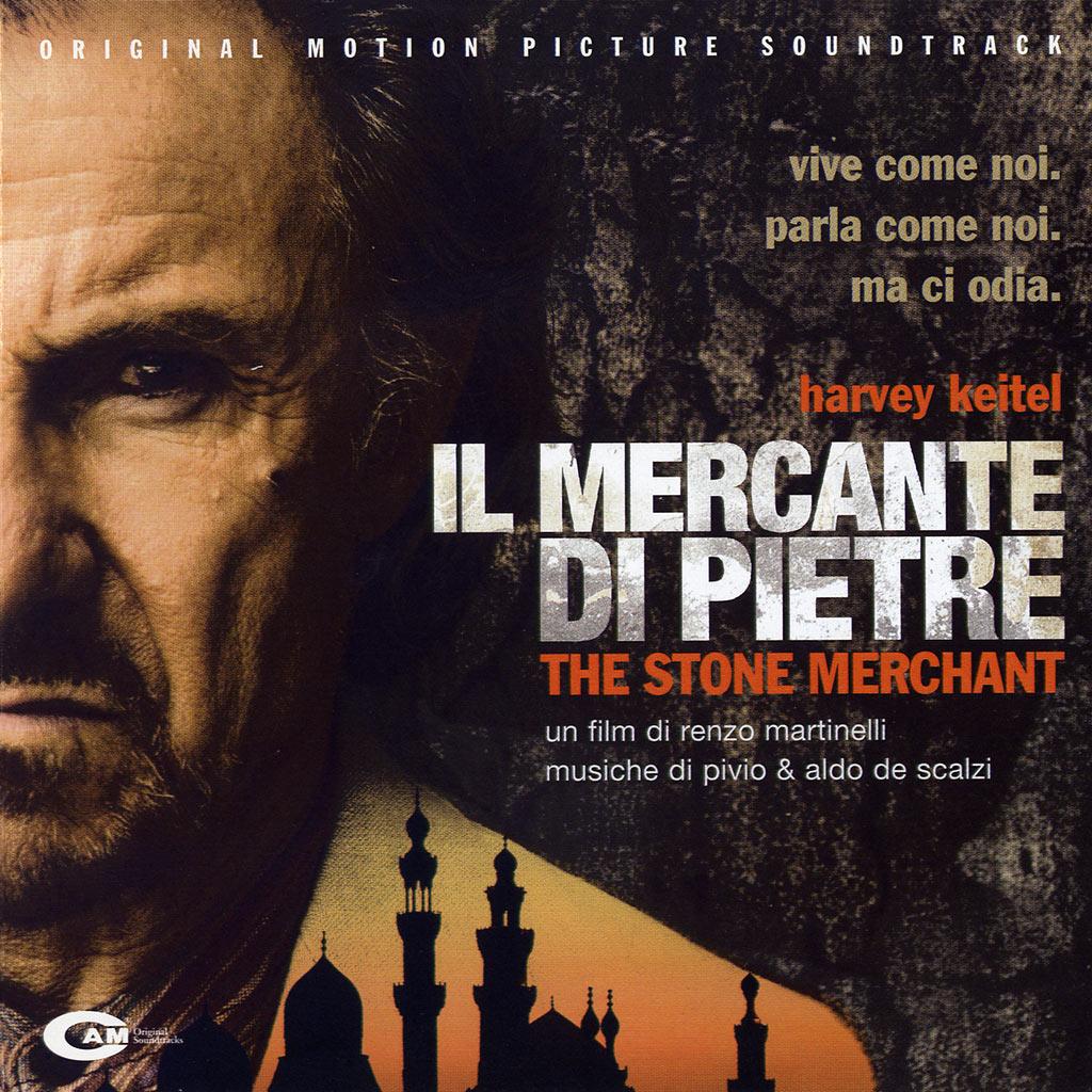 Il mercante di pietre - colonna sonora cover image