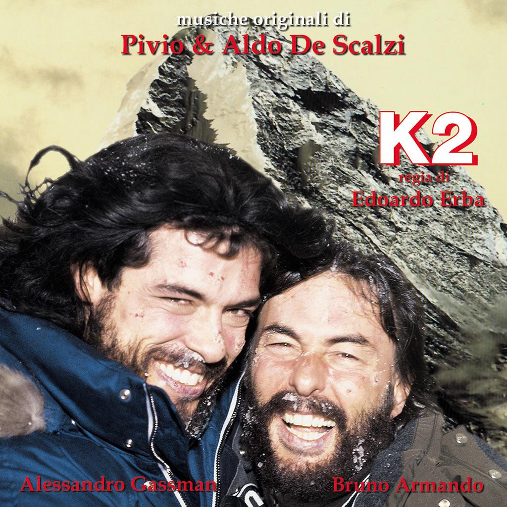 K2 - colonna sonora cover image