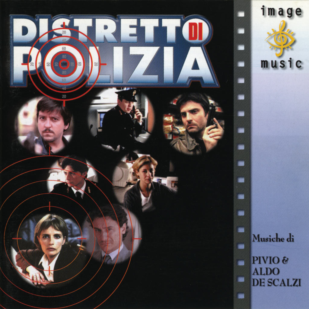 DISTRETTO DI POLIZIA CD cover