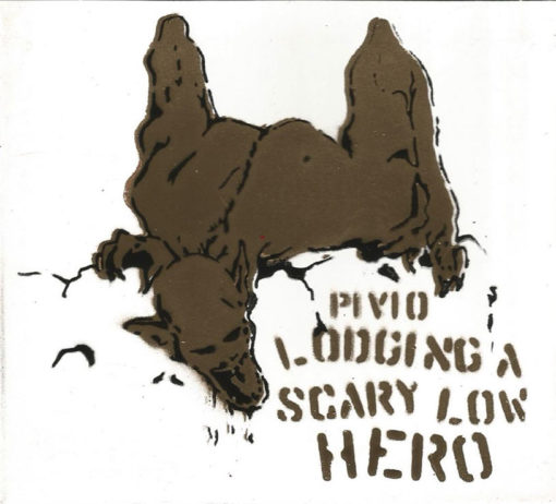 Lodging a Scary Low Heroes - bianco cover oro e nero