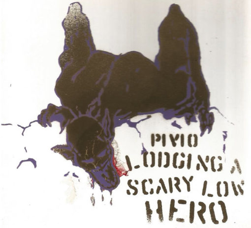 Lodging a Scary Low Heroes -bianco cover oro e viola