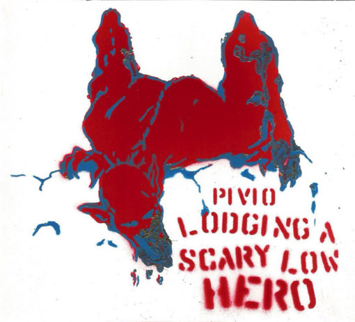 Lodging a Scary Low Heroes -bianco cover rosso e blu