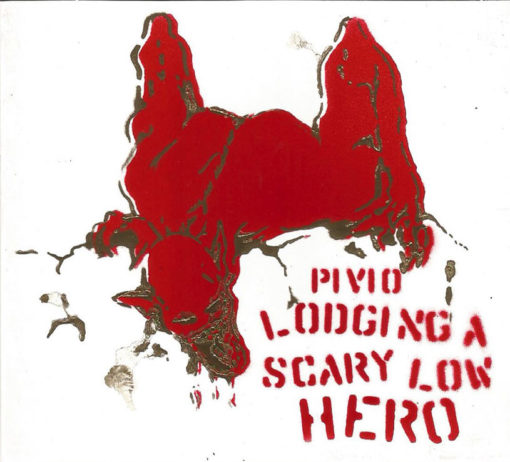 Lodging a Scary Low Heroes -bianco cover rosso e oro
