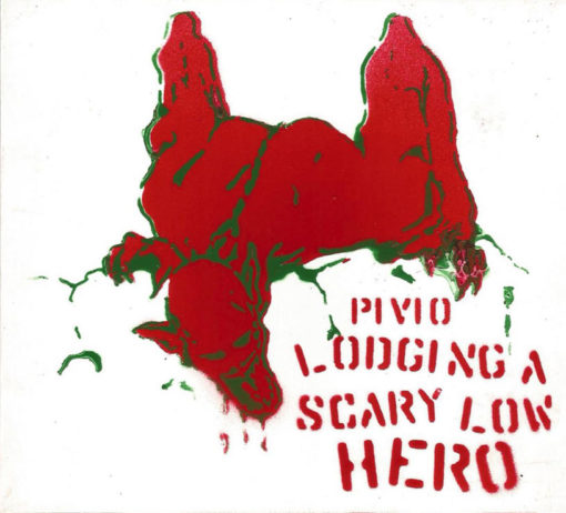 Lodging a Scary Low Heroes -bianco cover rosso e verde