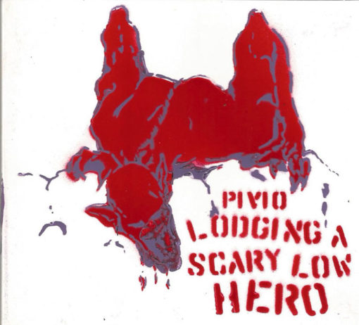 Lodging a Scary Low Heroes - bianco cover rosso e viola
