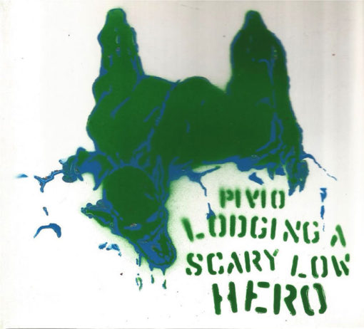 Lodging a Scary Low Heroes -bianco cover verde e blu