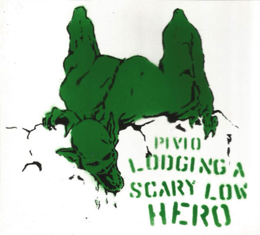 Lodging a Scary Low Heroes -bianco cover verde e nero