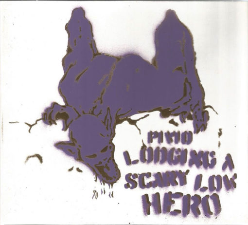 Lodging a Scary Low Heroes - bianco cover viola e oro