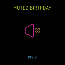 Muted Birthday: nuovo singolo di Pivio